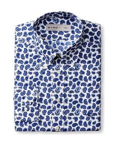 Etro Men's Long Sleeve Shirt at MYHABIT - $345.00 - Paisley is a Vampire, it can't be killed!