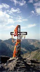 Croix au sommet du Pic du Canigou