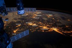US Northeast corridor from the International Space Station