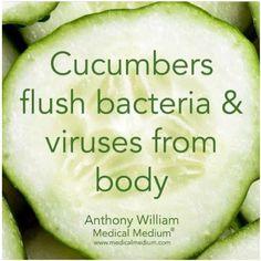 Cucumbers benefits