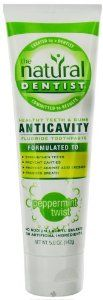 Natural Dentist, Healthy Teeth & Gums, Anticavity, Fluoride Toothpaste, Peppermint Twist, 5.0 oz (142 g) by Natural Dentist. $8.31. Qualifies for our sharing discount! Available for $6.34 from our website.. Natural Dentist Toothpaste - Original Peppermint Twist, the Natural Dentist was created by a dentist to provide effective oral care for his patients' teeth and gums. Because our products are formulated with a scientific blend of natural ingredients, you don't have to...