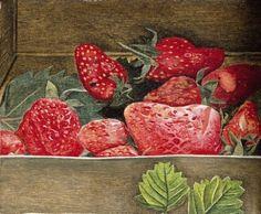 Strawberries  -  Lucian Freud,    ca. 1950 (British, 1922–2011)
