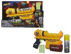 NERF Zombie Strike Biosquad Eraser Blaster for sale online Nerf, Kids Toys, Ebay, Childhood Toys, Children Toys, Baby Toys