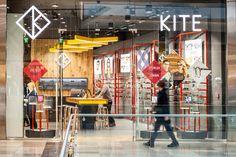 Дизайн магазина очков Kite в Лондоне, Великобритания
