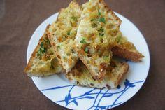 olive oil roasted garlic bread
