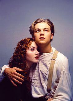 Titanic de James Cameron: Rose (Kate Winslet) y Jack (Leonardo DiCaprio)
