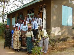 The Saturday field service group in Sengerema, Tanzania.
