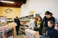 BONNE IDEE DU JOUR: La Cagette, supermarché coopératif en gestation