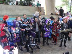 Otakon 2012 Mass Effect group