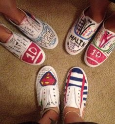 One Direction shoes!!