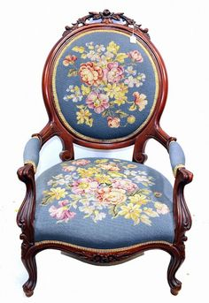 Chairs With Farmhouse Table Victorian Furniture, French Furniture, Home Decor Furniture, Dollhouse Furniture, Home Decor Bedroom, Antique Furniture, Victorian Parlor, Victorian Decor, Victorian Homes