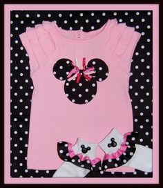 Incredible Applique Minnie Mouse