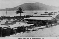Charlotte St,Cooktown, Queensland in 1900.