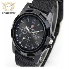 C0041 Famous Brand Men Outdoor Sport Quartz wristwatch Casual Fabric Watch Solider Military Army Watches Clock Relogio Masculino | An Official Army Closet Online Store