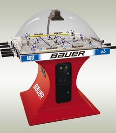 2003 Bauer Hockey themed Super Chexx Hockey Games, Ice Hockey, Brian Douglas, Vintage Toys 1960s, Hockey Season, Childhood Games, Mean Green, Games Images, Custom Logos