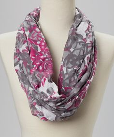 When+it+comes+to+a+solid+sense+of+style,+this+fetching+scarf+is+in+the+loop!+Dressed+in+an+eye-catching+pattern,+it+will+easily+round+out+fashion-forward+looks.