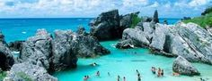 Horseshoe Bay Bermuda- my favorite island. Vacation Places, Vacation Destinations, Dream Vacations, Vacation Spots, Places To Travel, Caribbean Vacations, Places Around The World, Oh The Places You'll Go, Places To Visit