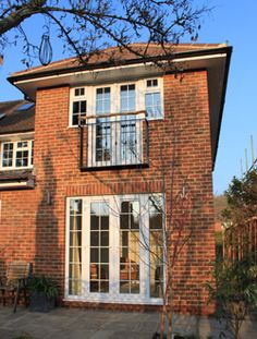 double storey extention