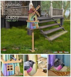 Happy Spring Bird House SL13B Gift by Aphrodite Shop | Teleport Hub - Second Life Freebies