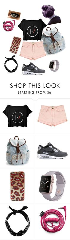 """""""weew"""" by omgantonia on Polyvore featuring Current/Elliott, Aéropostale, NIKE, women's clothing, women, female, woman, misses and juniors"""