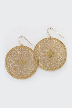 Isis Earrings in Gold