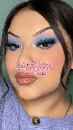 Dope Makeup, Baddie Makeup, Makeup Eye Looks, Eye Makeup Art, Makeup For Green Eyes, Crazy Makeup, Eye Makeup Tips, Skin Makeup, Eyeshadow Makeup
