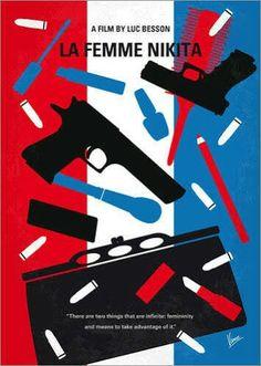 La femme Nikita minimalist film poster