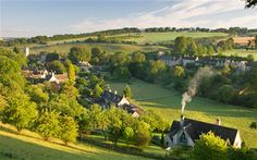 The Cotswolds. An area 25 miles (40 km) across and 90 miles (145 km) long. The area has been designated as the Cotswold Area of Outstanding Natural Beauty. Sometimes called the Heart of England