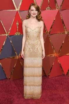 Emma Stone in Givenchy Couture by Richardo Tisci #Oscars2017