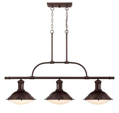 View the Savoy House 1-4720-3 Quebec 3 Light Single Tier Linear Chandelier at LightingDirect.com.