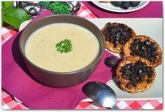 Чесночный крем-суп   Этот необычный суп имеет происхождение от средиземноморских супов основанных на чесноке. Чеснок даст супу очень приятный, чесночный аромат и вкус, от которого сразу просыпается аппетит.