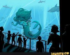 #fantasy, #art, #mermaid, #aesthetic
