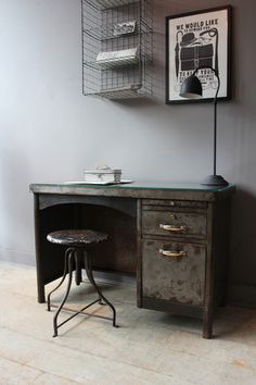 Image result for industrial style desk