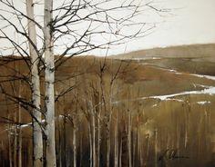 "2011, Aspen Ridge by Joseph Alleman Oil ~ 11"" x 14"""