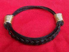 JEAR7 Bracelet braided hair between knots -gold wire. Fits any size. Price $190 incl. ship & insurance Gold Wire, Hair Jewelry, Braided Hairstyles, Knots, Braids, Elephant, Ship, Bracelets, Bang Braids
