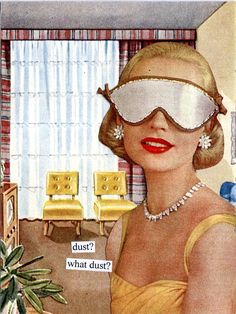 Lindy Bop's pick of vintage humour about the joys of housework... not.