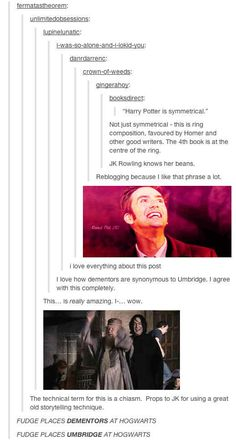 Just when I think JK Rowling couldn't be more awesome, I find out about this.