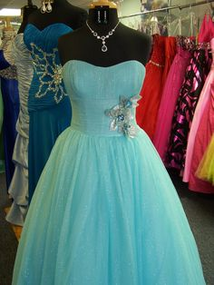 Precious. Alyce Paris ball gown