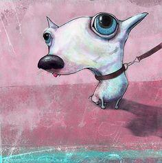 Anders Malmo dog art