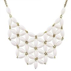 Tessellate Net Statement Necklaces