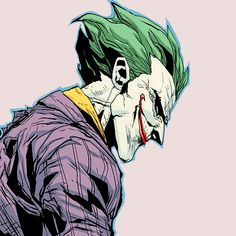 "jasontoddism: "" ""Joker in Arkham Knight Genesis #6 "" """