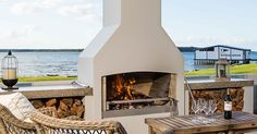 FINISH OPTIONS - Outdoor Wood Burning Fireplaces