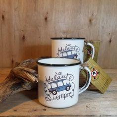 #RETROPOT www.retropot.es #vintage #taza #mug #enamelmug #camping #camplife #retro #retropot #pot #peltre #coffee #tea #vintagemug #cup #deco #outdoor Mensajes especiales... Diseño RetroPot para un #regalo único.  Hay que vivir el #momento y #adelante siempre! Buen fin de semana largo para todos!