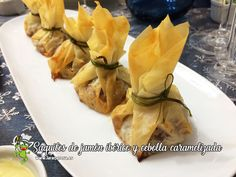 Appetizer Recipes, Snack Recipes, Appetizers, Healthy Recipes, Recetas Pasta Filo, Canapes, Pineapple, Sandwiches, Brunch