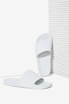 0e4e08a2f248 Sixty Seven Ariel Vegan Leather Slides