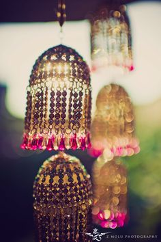 Beaded lanterns perfect for that beach bungalow!