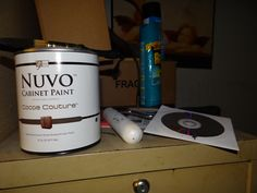 Giveaway WON!  Nuvo Cabinet Paint kit Review & Give-Away Ends 6.15