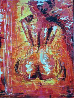 Sunset, Ramune Art, ❤🎨 painting acrylic figurativepainting paveikslai art ramune_art lerret passion sexy girls bikiny abstract abstractart artforsale dreams emotion women nudes feelings tones strong fantasy art_spotlight color homedesigns deep strong secret followme erotic modern, modernart, hot sexy