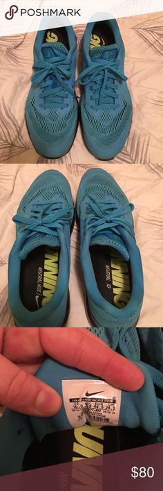 Men's 2014 Nike Air Max Men's 2014 Nike Air Max. Only worn a handful of times, excellent condition. Nike Shoes Athletic Shoes