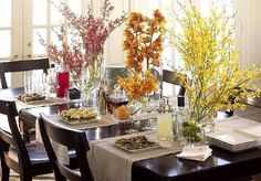 Thanksgiving Dining Room Table Centerpieces  Gorgeous Dining Room Table Centerpieces